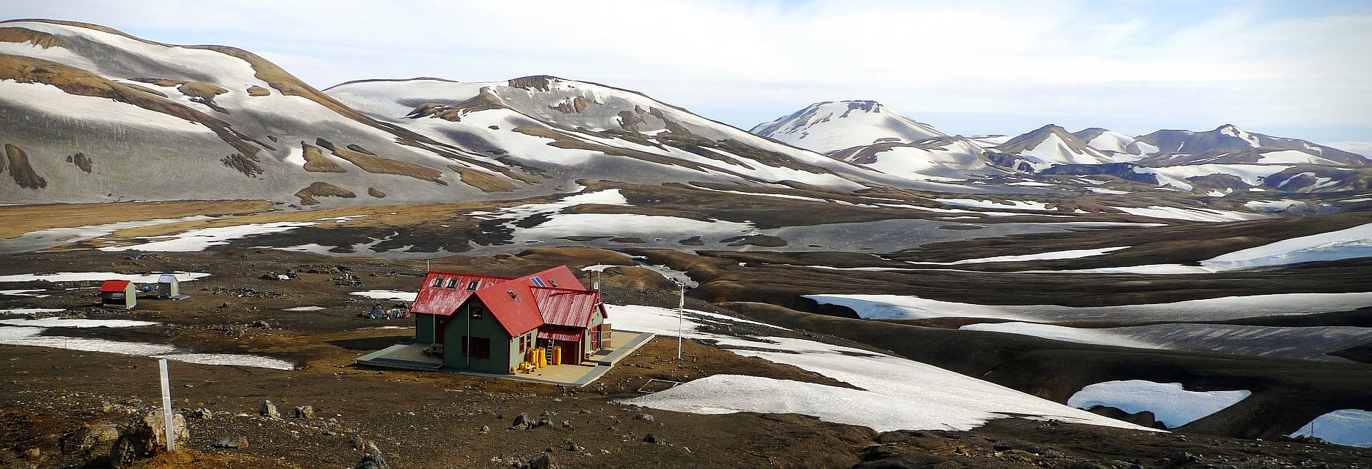Les refuges (et quelques campings) autour de Fjallabak et du Laugavegur feature image